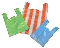 Túi Siêu thị cao cấp T-shirt bags màu (không in)