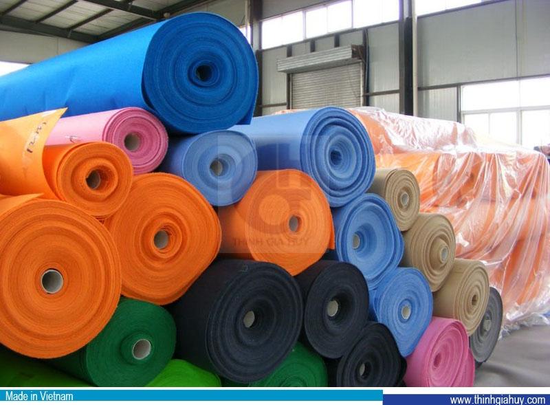 Vải không dệt xăm kim dạng cuộn
